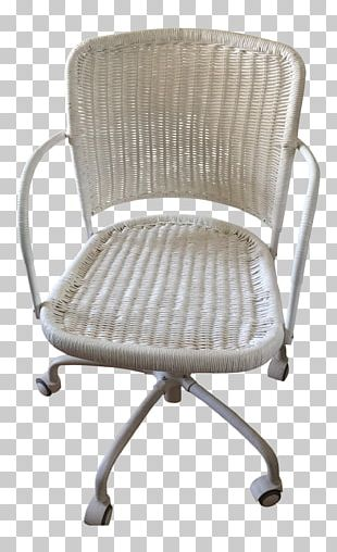 Office & Desk Chairs Wicker Swivel Chair Furniture PNG