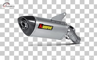 Exhaust System Akrapovič Ducati Hypermotard Motorcycle Muffler PNG