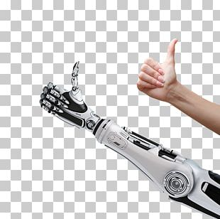 Robotic Arm Thumb Signal Humanu2013robot Interaction PNG