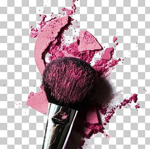 Cosmetics Rouge Face Powder Make-up Artist Makeup Brush PNG