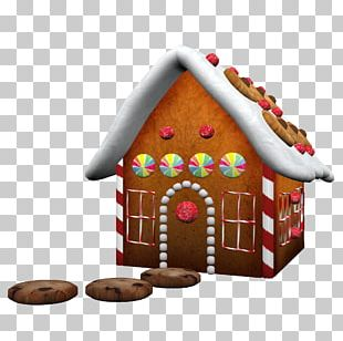Drawing Paper Fairy Tale Gingerbread House Decoupage PNG