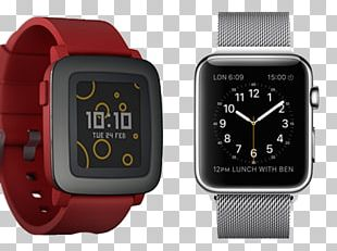 Pebble Time Smartwatch Apple Watch Series 1 PNG