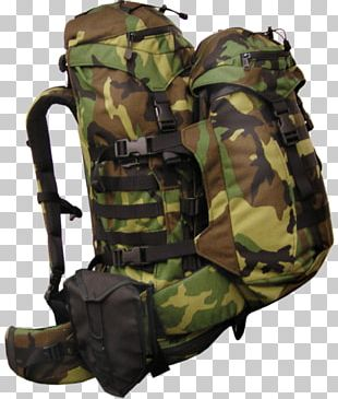 Backpack Military Camouflage Travel The North Face Cobra 60 PNG