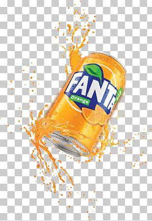Fanta Fizzy Drinks Orange Drink Coca-Cola Juice PNG