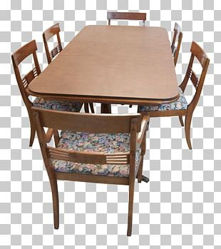 Table Chair Furniture Dining Room Wood PNG