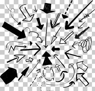 Drawing Arrow PNG