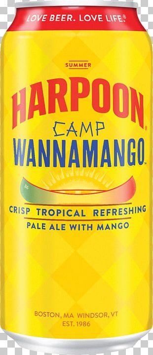 Harpoon Brewery Beer Orange Soft Drink Orange Drink PNG
