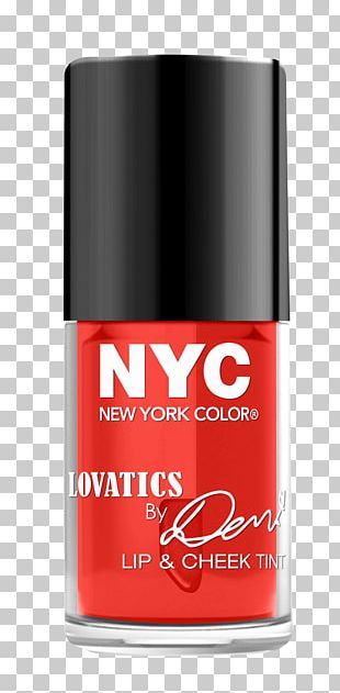 NYC Lovatics By Demi Eyeshadow Palette New York City Tints And Shades Lip Stain Color PNG