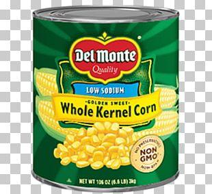 Sweet Corn Creamed Corn Corn Kernel Canning Del Monte Foods PNG