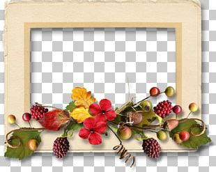 Floral Design Frames Cut Flowers Christmas PNG