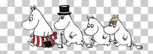 Moomin Family Walking PNG