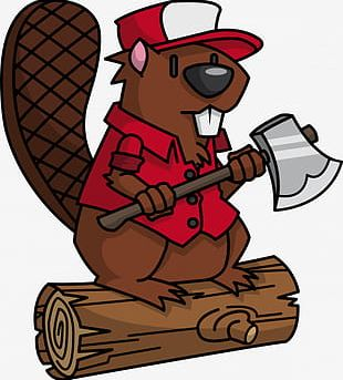 Beaver Sprout Worker PNG