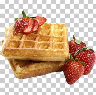Belgian Waffle Pancake Breakfast Belgian Cuisine PNG