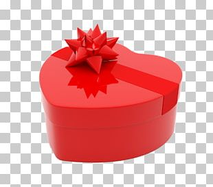 Valentine's Day Gift Box PNG