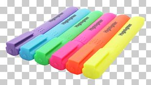 Highlighter Stain Paper Marker Pen PNG