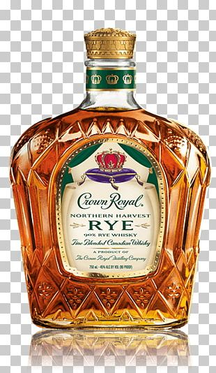 Crown Royal Rye Whiskey Canadian Whisky Blended Whiskey PNG