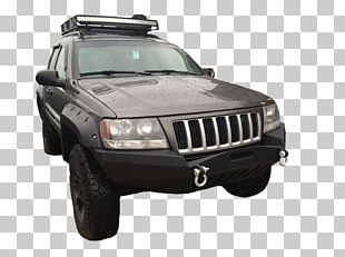 Jeep Grand Cherokee Bumper Car Tire PNG