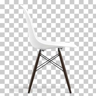 Plastic Side Chair Acer Nigrum Charles And Ray Eames Vitra PNG