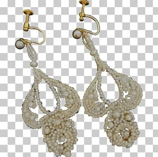 Earring Jewellery Pearl Clothing Accessories Gold-filled Jewelry PNG