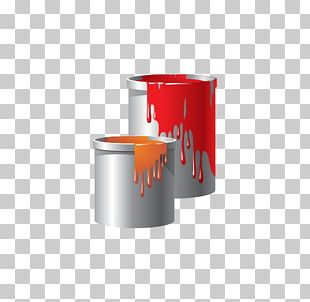 Paintbrush Bucket Paintbrush PNG