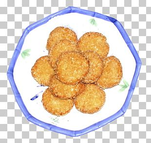 Chicken Nugget Potato Cake Croquette Korokke PNG