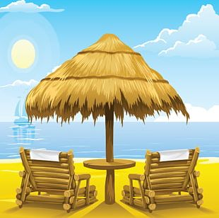 Deckchair Beach Chaise Longue PNG
