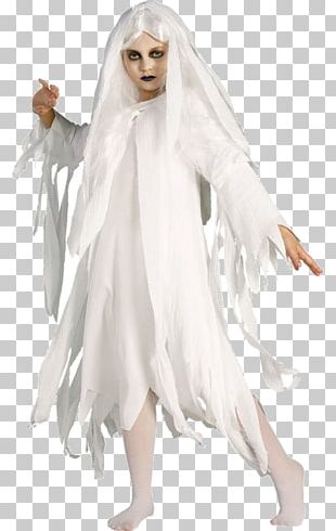 Halloween Costume Child Ghost Costume Party PNG