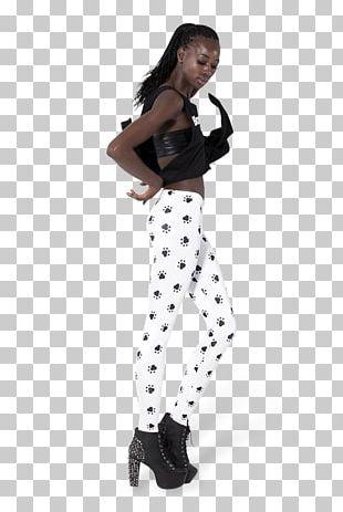 Leggings Polka Dot Waist Costume Shoe PNG