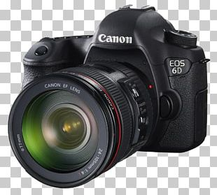 Canon EOS 6D Mark II Camera PNG