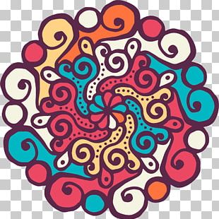 Mandala Coloring Book Buddhism Meditation PNG