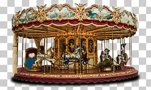 Carousel Merry Go Round PNG
