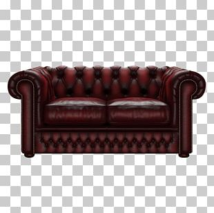 Loveseat Couch Furniture Club Chair Wing Chair PNG