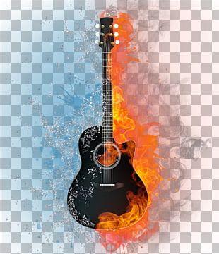 Acoustic Guitar Light PNG