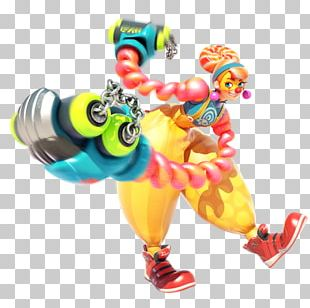 ARMS: Lola Pop Nintendo Switch Game PNG