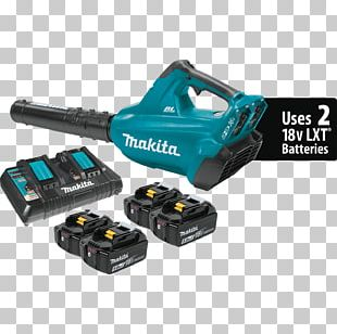 Lithium-ion Battery Cordless Makita Leaf Blowers Brushless DC Electric Motor PNG