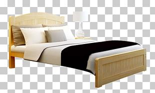 Bed Frame Wood Furniture PNG