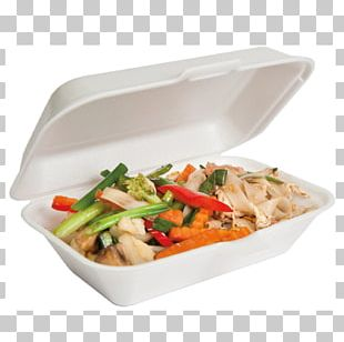 Bento Vegetarian Cuisine Lunch Foam Food Container PNG