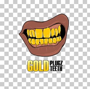 Human Tooth Gold Teeth Grill PNG