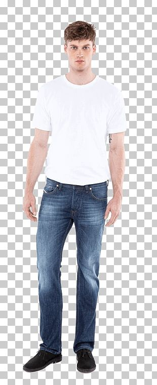 Jeans T-shirt Denim Sleeve PNG