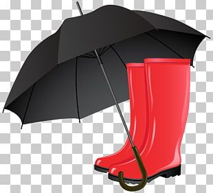 Wellington Boot Umbrella Stock Photography PNG