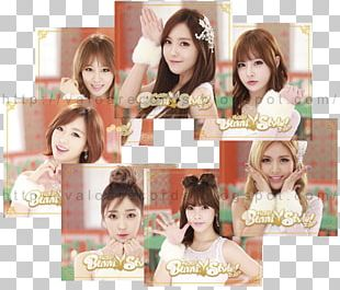 Bunny Style! Hair Coloring Long Hair T-ara PNG