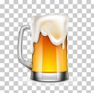 Beer Cartoon Illustration PNG
