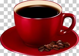 Coffee Cup Cafe Coffee Bean PNG