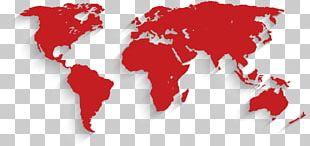 Globe World Map Graphics PNG