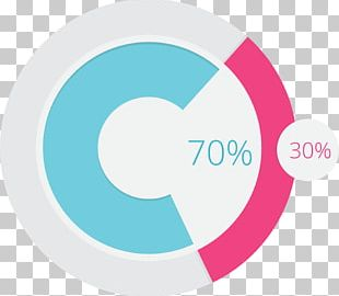 Circle Pie Chart Diagram PNG