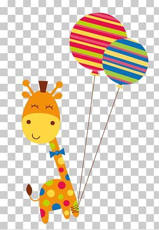 Giraffe Cartoon PNG