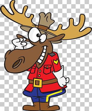 Moose Canada Royal Canadian Mounted Police PNG