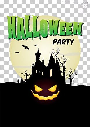 Halloween Party Halloween Party Poster PNG