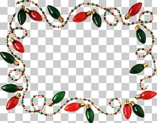 Christmas Lights Guirlande De Noël Garland Christmas Decoration PNG