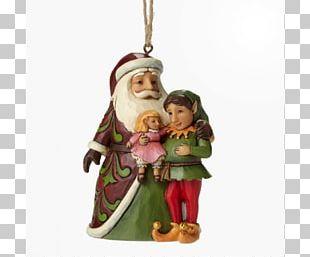 Christmas Ornament Santa Claus Figurine Elf PNG